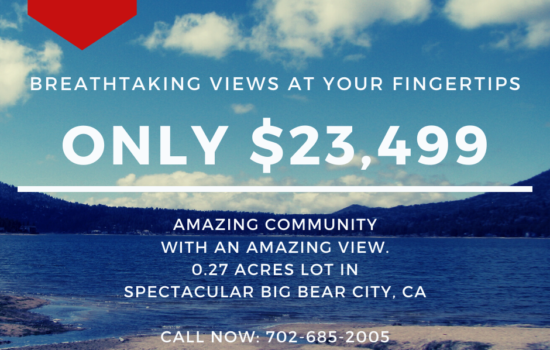 0.27 Acre Lot with Breathtaking Views in Big Bear, CA