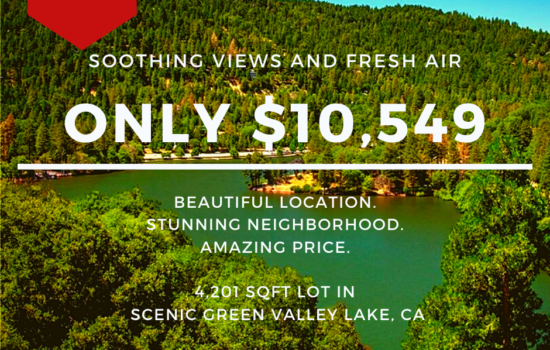 4,201 SQFT Lot for Dream Home in Green Valley Lake, CA