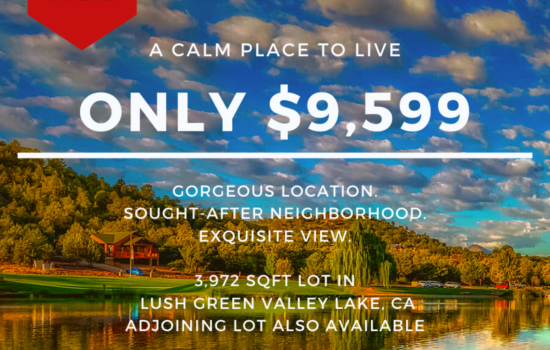 3,972 SQFT Lot with Jaw-dropping Views in Green Valley Lake, CA