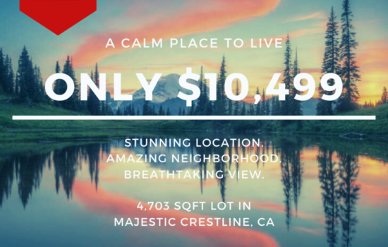 4,703 SQFT Lot with Majestic Views in Crestline, CA