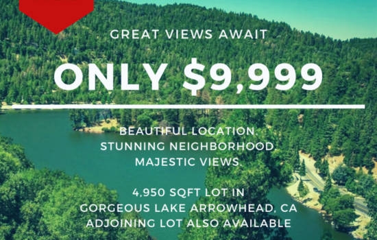 4,950 SQFT Lot with Dreamy Vibes in Lake Arrowhead, CA