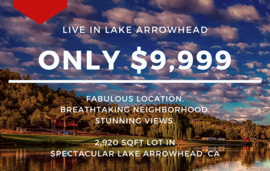 2,920 SQFT Lot with GREAT Outdoors in Lake Arrowhead, CA